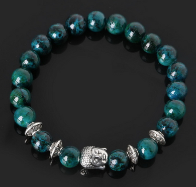 Collection Serenity - Bracelet Pierre de Phoenix et Bouddha