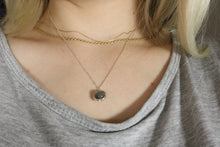 Collection Smile - Collier Pierre de Lune grise