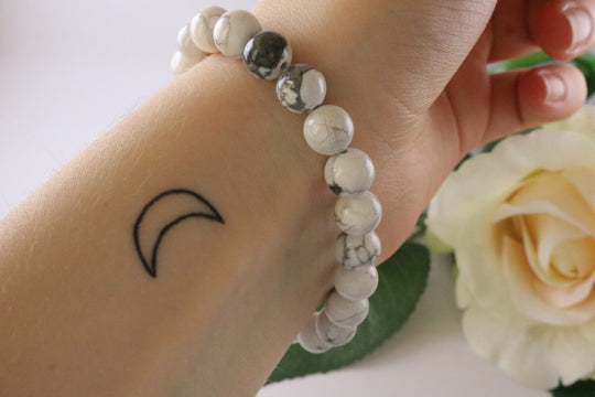 Collection Serenity - Bracelet en Howlite