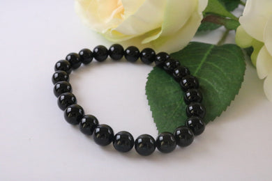 Collection Serenity - Bracelet Obsidienne noire