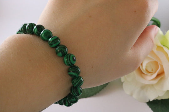 Collection Serenity - Bracelet en Malachite