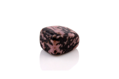 Pierre polie : Rhodonite