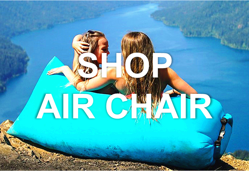 inflatable lounger air chair