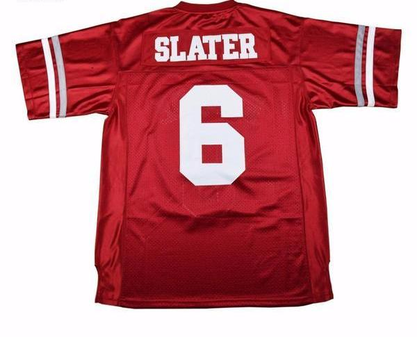 a6edbcec9c76 Saved By The Bell - AC Slater Bayside Tigers Football Jersey ...