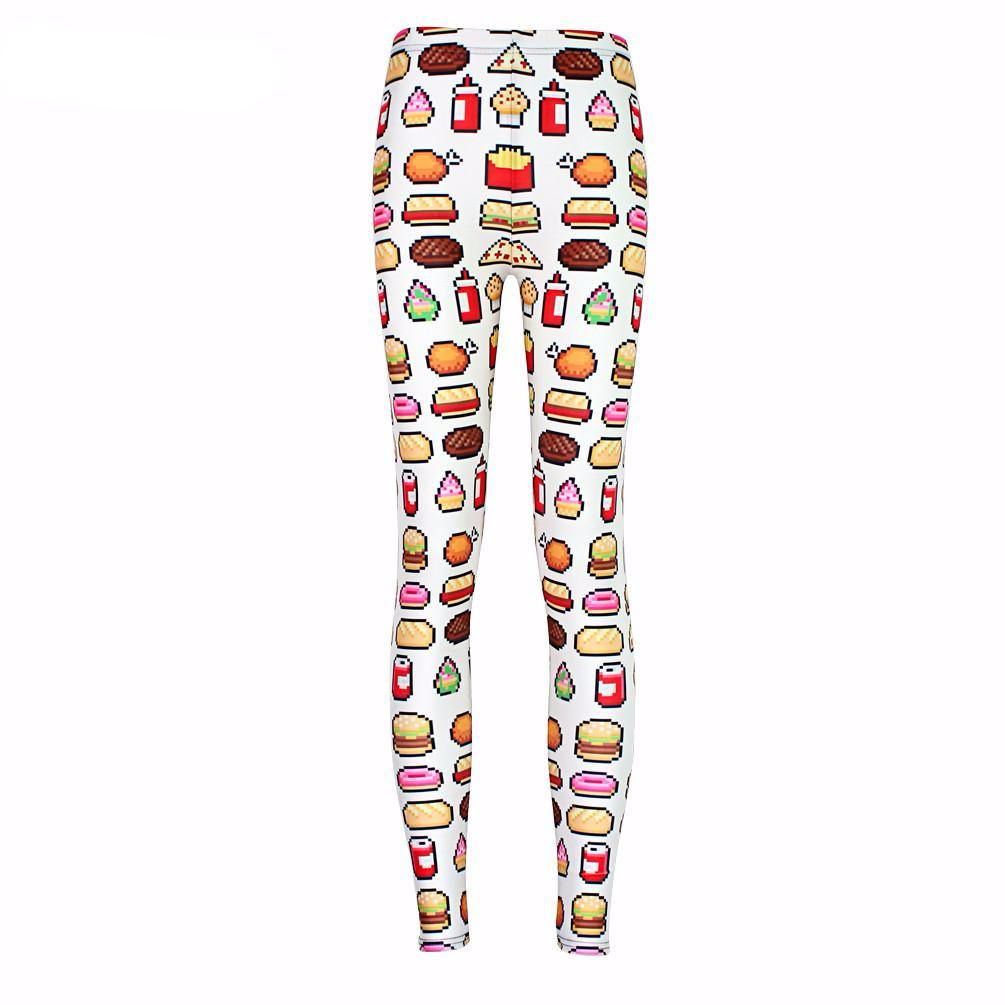 I'm Hangry 8 Bit Emoji Leggings