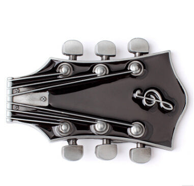 Guitar Head Metal Belt Buckle