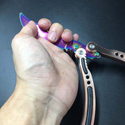 Color Rush Butterfly Knife