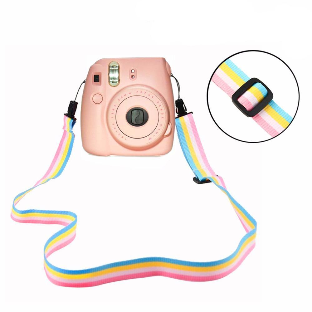 Rainbow Camera Flexible Shoulder Strap
