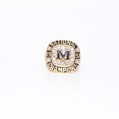 1997 MICHIGAN WOLVERINES FOOTBALL NATIONAL CHAMPIONSHIP RING US SIZE 11