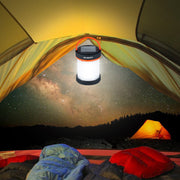 Collapsible Solar Charging Camping Lantern with USB
