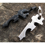 4 in 1 Tool - Keychain, Bottle Opener, Climbing Clasp, Screwdriver