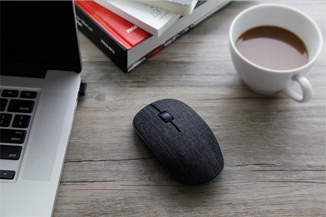 Rapoo Fabric Optical Wireless Mouse For Laptop Computer