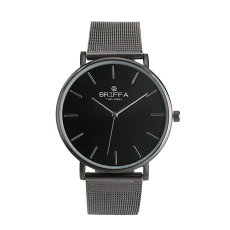 Classic Men's & Women's Steel Strap Wrist Watch