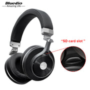 Bluedio T3 Plus Wireless Bluetooth  Headphones with Microphone/Micro SD Card Slot