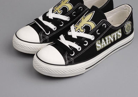 Customized New Orleans Saints Converse All Stars
