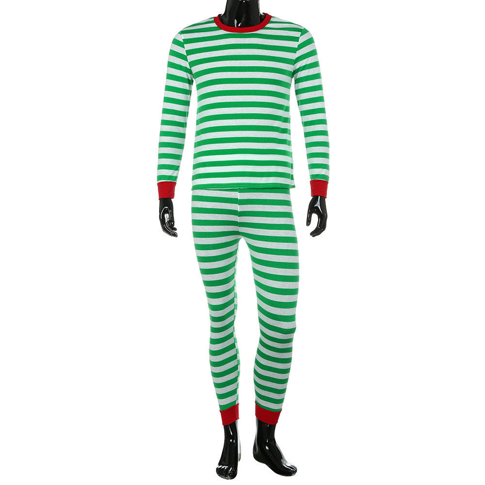 Men's Christmas Holiday Two-piece Pajama Set