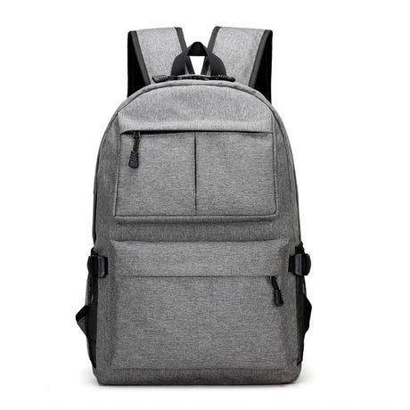 Dual Strap Anti Theft Travel Backpack Bag With USB Charging Port