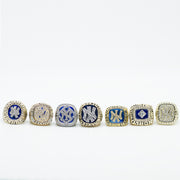 7Pc Set NEW YORK YANKEES WORLD SERIES CHAMPIONSHIP RING SET