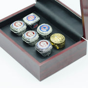 6pc Set Chicago Cubs World Series Champion Rings