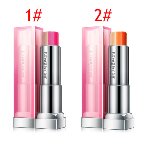 Waterproof Gradient Change Three-Color Lipstick