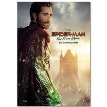2019 Spider-Man: Far From Home Movie Poster Heroes Expedition Movie Characters Study Room Bedroom Decorative Painting Wall Art