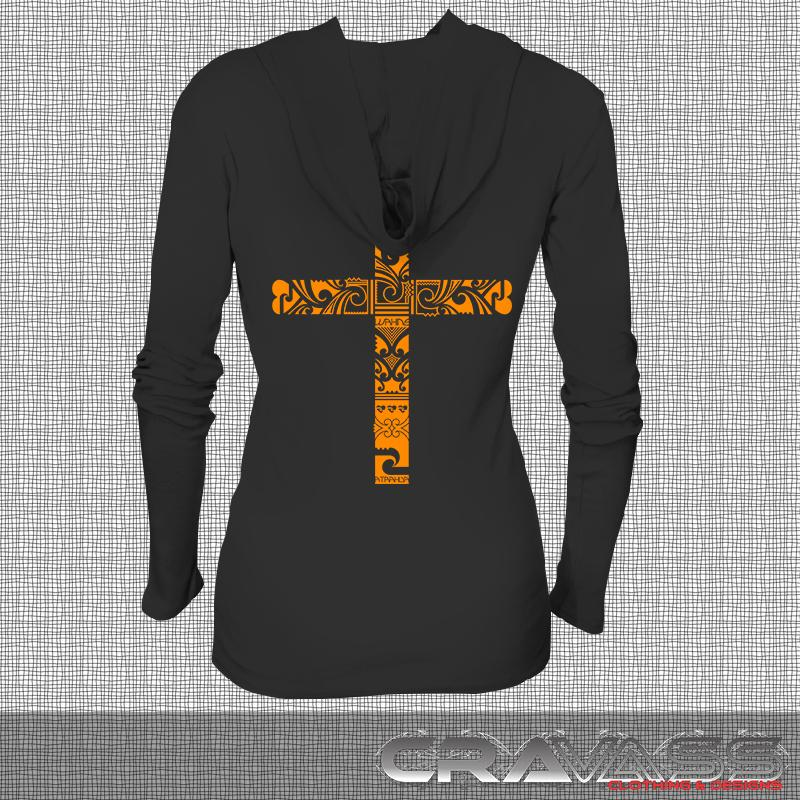 Ta Moko Cross Long Sleeve