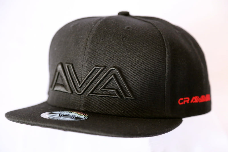 Black snapback cap from cravass