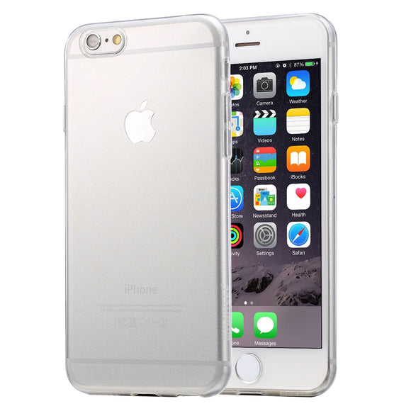 iPhone 6 & 6s Soft Transparent TPU Protective Case - DeltAeon™ Online Store Worldwide Shipping iPhone Cases / Covers - Shopping