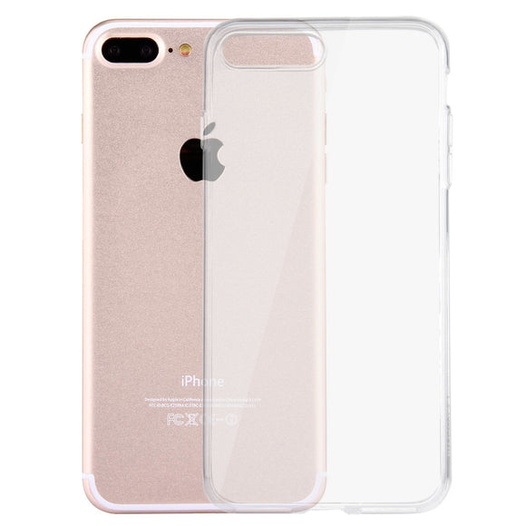 iPhone 8 Plus & 7 Plus Soft Transparent TPU Protective Case - DeltAeon™ Online Store Worldwide Shipping iPhone Cases / Covers - Shopping