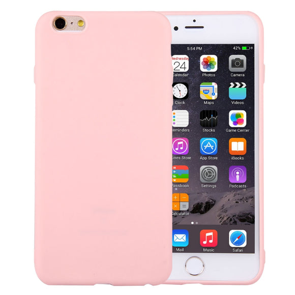 iPhone 6 & 6s Solid Color Smooth Surface TPU Case / Cover