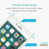 iPhone Tempered Glass Non-full Screen Protector - 9H Surface Hardness 2.5D Explosion-proof Tempered Glass Non-full - DeltAeon™ Online Store Worldwide Shipping iPhone Screen Protector - Shopping