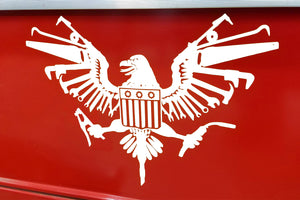 U.S. Eagle Fabricator Decal