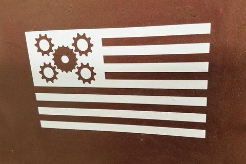 U.S. Gear Flag Decal