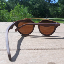Load image into Gallery viewer, Cherry Wood Full Frame, Polarized with Metal Trim - *Only Ships Within USA*