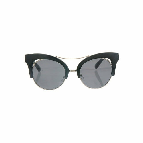 Black Cut Out Cat Eye Sunglasses - *Only Ships Within USA*