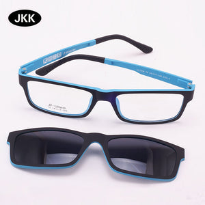 Ultra-light Magnet Clip Sunglasses Polarized eFunctional 3D UV400