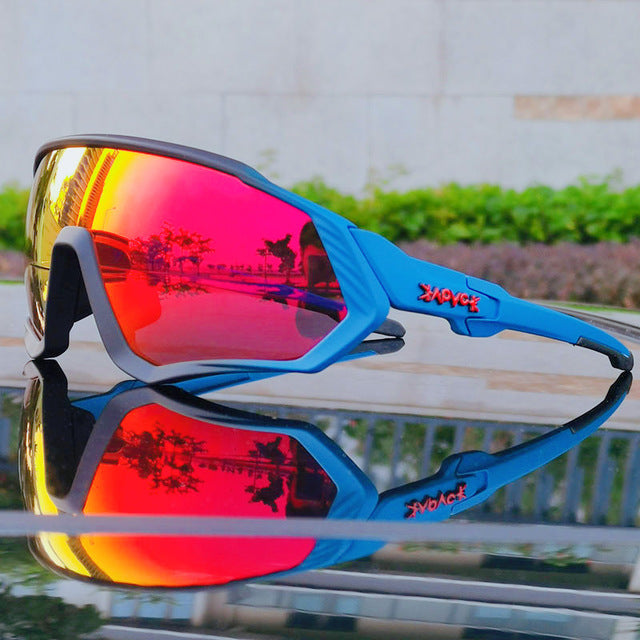 Unisex Polarized Sports Photocromic Cycling Sunglasses