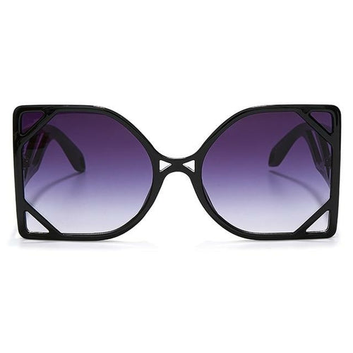 Women's Steampunk Square Oversized Sunglasses - *Only Ships Within USA*