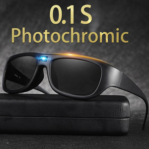 Men's Smart Polarized Photochromic Driving Sunglasses