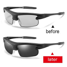 Load image into Gallery viewer, Men's Smart Polarized Photochromic Driving Sport Sunglasses