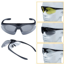 Load image into Gallery viewer, Tactical Flip-up Lens Sports Sunglasses. UV Protection.