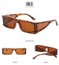 Load image into Gallery viewer, Women's Narrow Rectangle Sunglasses - *Only Ships Within USA*
