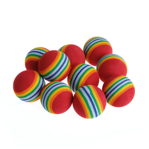 Colorful Cat Balls