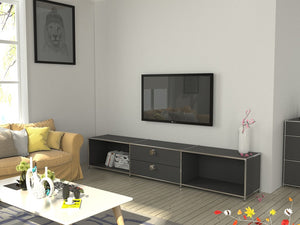 TV Cabinet, Steel Made Entertainment Unit, TV2250H42DR2
