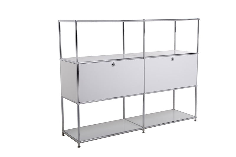 Bookcase, Partition, Customizable, Steel Made, 1500H117DR2