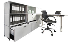 Office Workstation, Steel Made, Convertible, Reusable, 2250H117DR4