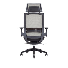 Ergonomic Office Chair Mesh Cover with Headrest