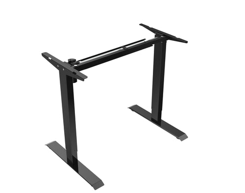 Electric Single Motor Sit Stand Desk ET114E - FRAME ONLY