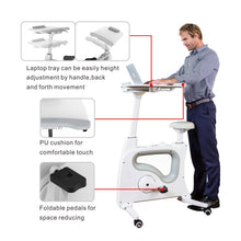 Flexispot Exercise Bike with Desk