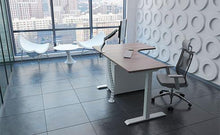 Electric L-Shaped Height Adjustable Desks